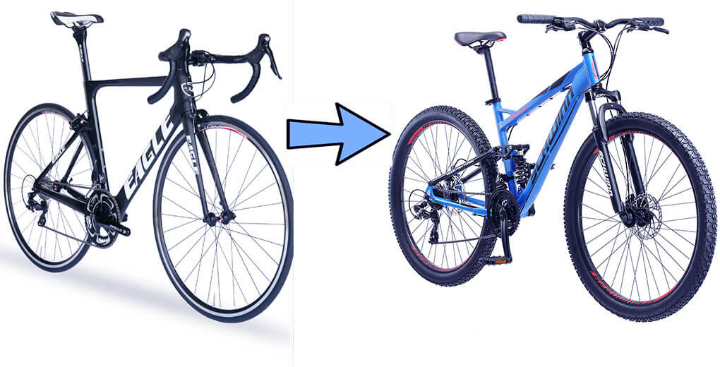 How to Convert a Mountain Bike to a Road Bike